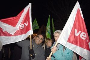 Demo gegen RECHTS in Salzkotten (Kreis Paderborn). Archiv-Foto: Dieter Tuschen